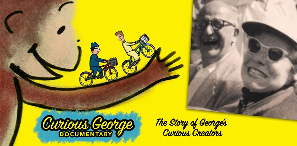 monkey business: the adventures of curious george's creators still, curious george documentary, curious george poster, the story of george's curious creators